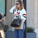 Maria Menounos – Shopping at Barneys New York in Beverly Hills - 454 x 681
