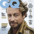 Simon Baker - GQ Magazine Cover [Australia] (April 2018)
