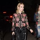 Emma Roberts at Eric Buterbaugh Gallery in Los Angeles 1/6/ 2017 - 454 x 730
