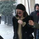Kendall Jenner – Heads to photoshoot in Paris