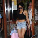 Rihanna At Da Silvano Restaurant In West Hollywood
