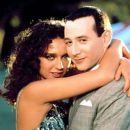 Paul Reubens and Valeria Golino