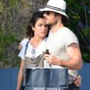Nikki Reed and Ian Somerhalder out in Venice - 454 x 718