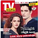 Kristen Stewart, Robert Pattinson - TV Mini Magazine Cover [Czech Republic] (17 November 2012)