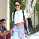 Vanessa Hudgens In Ripped Jeans Out In Los Angeles