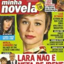 A Favorita - Minha Novela Magazine Cover [Brazil] (25 July 2008)