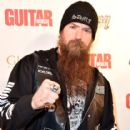 """Musician Zakk Wylde arrives at """"An Evening With Jimmy Page And Chris Cornell In Conversation"""" at the Ace Hotel on November 12, 2014 in Los Angeles, California"""