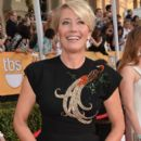 Emma Thompson attends the 20th Annual Screen Actors Guild Awards at The Shrine Auditorium on January 18, 2014 in Los Angeles, California - 395 x 594