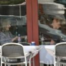 Laura Prepon Grabs Lunch Then Gets Her Nails Done, 2008-04-15