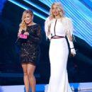 Demi Lovato and Rita Ora At The 2012 MTV Video Music Awards - 454 x 543