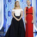Amy Schummer and Jennifer Lawrence : Golden Globe Awards