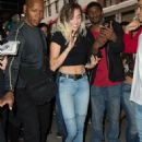 Miley Cyrusheading to dinner in New York City - 454 x 639