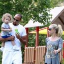 Kendra Wilkinson & Hank Baskett's Memorial Day Outing
