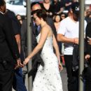 Scarlett Johansson – Arriving at Jimmy Kimmel Live! in LA