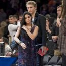 Vanessa Hudgens ,Austin Butler at the New York Knicks and Washington Wizards game at Madison Square Garden Friday November 30, 2012
