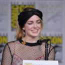 Caity Lotz- Comic-Con International 2018 - 'DC's Legends Of Tomorrow' Special Video Presentation And Q&A - 454 x 595