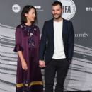 Amelia Warner and Jamie Dornan : The British Independent Film Awards - 454 x 610