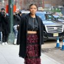 Storm Reid – Seen At Longchamp during New York Fashion Week in New York City - 454 x 681