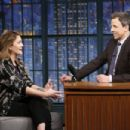 Drew Barrymore At The Late Night with Seth Meyers (February 2017) - 454 x 303