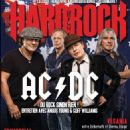 Stevie Young, Angus Young, Brian Johnson, Cliff Williams - Hard Rock Magazine Cover [France] (November 2014)