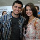 Bruna Marquezine and Bruno Gissoni