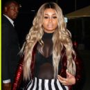Blac Chyna Attends Rihanna's Concert at The Forum in Inglewood, California - May 3, 2016 - 454 x 679