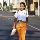 Christina Milian – Seen leaving a nail salon in LA - 454 x 642
