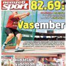 Nemzeti Sport - Nemzeti Sport Magazine Cover [Hungary] (17 August 2014)