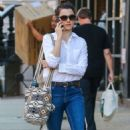 Rachel Weisz in Jeans – Walking in Soho in New York City 10/18/2016 - 454 x 740