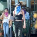 Julianne Hough – Wearing mask as she shopping at Whole Foods in Malibu