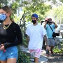 Hailey and Justin Bieber – Heads to lunch in West Hollywood
