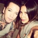 DJ Ashba with his wife Natalia