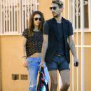 Mila Kunis: stopped by a nail salon in Studio City