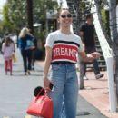 Cara Santana – Shopping at Fred Segal in LA - 454 x 682