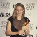 Jodie Foster At The 49th Annual Golden Globe Awards - Winner Best Actress for Silence of the Lambs (1992)