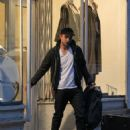 Robert Pattinson Shops in NYC