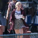 Abigail Breslin – On the Set of 'Scream Queens' in Los Angeles 9/1/2016 - 454 x 554