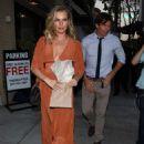Rebecca Romijn – Leaving Andy Cohen's baby shower in Beverly Hills