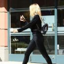 Sofia Richie in Black Velvet Ensemble – Out in Hollywood