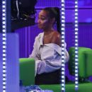 Leigh-Anne Pinnock and Perrie Edwards – Appearance on The One Show in London - 454 x 552