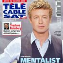 Simon Baker - Télé Cable Satellite Magazine Cover [France] (10 April 2010)