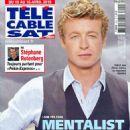 Simon Baker - Télé Cable Satellite Magazine Cover [France] (10 April 2010)