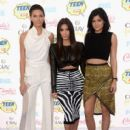 Kendall Jenner attends FOX's 2014 Teen Choice Awards at The Shrine Auditorium on August 10, 2014 in Los Angeles, California