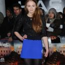 03/04/2013.'Olympus Has Fallen' at The BFI IMAX, Waterloo.Sophie Turner