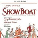 SHOW BOAT 1927 PLACARD FOR BROADWAY OPENING