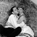 Debbie Reynolds and Tony Randall