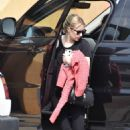 Emma Roberts – Seen while returns to her home in Los Angeles