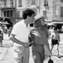 Liz and Eddie honeymooned on board a yacht, making a call at Portofino, Italy, where Liz was rumoured to have spent $800 on knitwear. Her straw boater, Capri pants, neat flats and silk scarf were the epitome of tasteful dressing abroad. She and Fisher div - 454 x 681