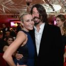 Dave Grohl and Chelsea Handler attend the 21st Annual Elton John Aids Foundation on February 24, 2013