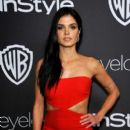 Marie Avgeropoulos- The 2017 InStyle and Warner Bros. 73rd Annual Golden Globe Awards Post-Party - Red Carpet - 399 x 600